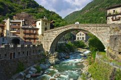 Pont San Martino Fotografia Stock