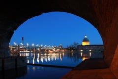 Pont San-Pierre a Toulouse Fotografia Stock