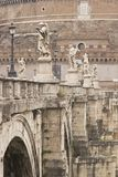Pont Sant' Angelo Stock Photo