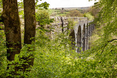 Pont Sarn Viaduct Wales Royalty Free Stock Images