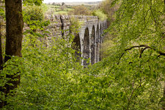 Pont Sarn Viaduct Wales Royalty Free Stock Image