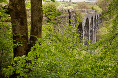 Pont Sarn Viaduct Wales Royalty Free Stock Photography