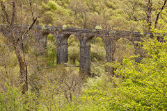 Pont Sarn Viaduct Wales Stock Photography