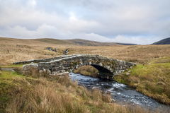 Pont Scethin bridge. Which forms part of the old Drovers road from Harlech to Dolgellau near dyffryn Ardudwy Royalty Free Stock Photos