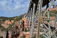 Pont Sedona Moutains Photos libres de droits