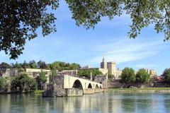 Pont St-Benezet à Avignon, France Photo libre de droits