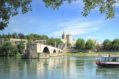 Pont St-Benezet à Avignon, France photographie stock