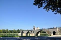 Pont StBénézet,阿维尼翁 库存图片