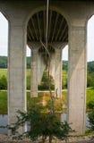 Pont sur 80 d'un état à un autre près de Cleveland, Ohio photographie stock