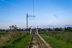 Pont sur la rivière Ner, Pologne photo libre de droits