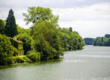Pont-sur-Yonne Fotografía de archivo