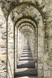 Pont-sur-Yonne Stock Photography
