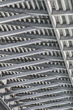 Pont suspendu au-dessus d'Ada Girder Framework Detail - Belgrade - Photo libre de droits