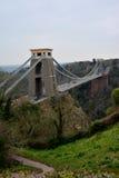 Pont suspendu Bristol image libre de droits