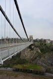 Pont suspendu de gorge d'Avon images stock