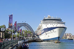 Pont Sydney Australia de port Photos stock