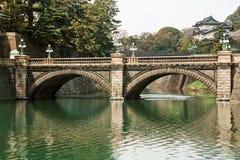 Pont Tokyo Japon de Nijubashi Photos stock