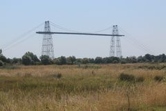 Pont transbordeur de Rochefort ( France ) Royalty Free Stock Images