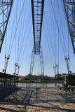 Pont transbordeur de Rochefort ( France ) Stock Photo