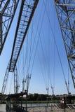 Pont transbordeur de Rochefort ( France ) Stock Image