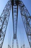 Pont-transbordeur de Rochefort (Frankreich) stockfotografie