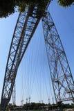 Pont transbordeur de Rochefort (Frankrike) fotografering för bildbyråer