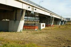 Pont, travail de réparation Photo libre de droits
