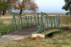 Pont - une structure artificielle Images stock