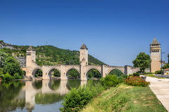 Pont Valentre Royalty Free Stock Images