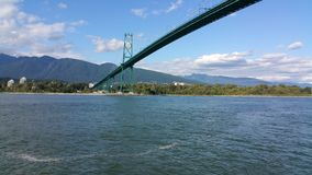Pont Vancouver de Stanley Park photographie stock libre de droits