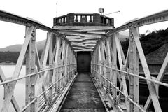 Pont verrouillé inutile Image stock
