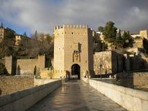 Pont vers Toledo Images libres de droits
