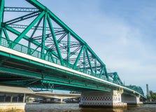 Pont vert à Bangkok Thaïlande image stock