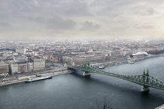 Pont vert Images libres de droits