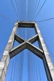 Pont vertical Photos libres de droits