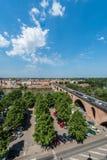 Pont Vieux在蒙托邦,法国 库存图片