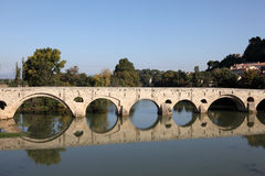 Pont Vieux in Beziers, France Stock Photography