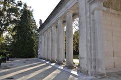Pont-Villa und Gärten Lizenzfreies Stockfoto