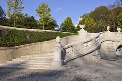 Pont-Villa und Gärten Lizenzfreie Stockbilder
