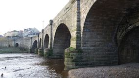 Pont Wetherby de Wharfe Images stock