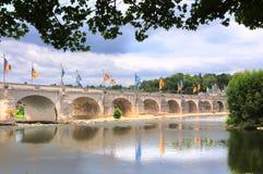 Pont Wilson nas excursões, França imagens de stock