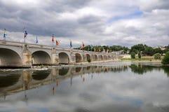 Pont Wilson nas excursões, França fotografia de stock royalty free