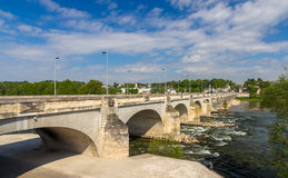 Pont Wilson in Tours - France. Region Centre Stock Photography