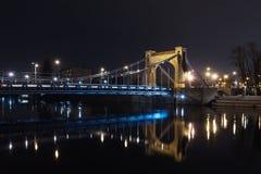 Pont Wroclaw de Grunwaldzki Photographie stock libre de droits