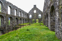 Pont y Pandy disused slate mill, north wales, UK. Stock Photography