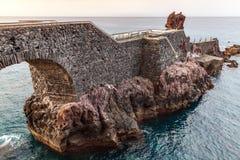 Ponta делает мост Sol, остров Мадейры Стоковые Фото