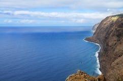 Ponta делает береговую линию Pargo северную, Мадейру Стоковые Изображения