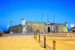 Ponta da Bandeira Fortress, Lagos, Portugal Stock Image