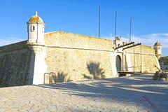Ponta da Bandeira Fortress in Lagos Portugal Royalty Free Stock Image