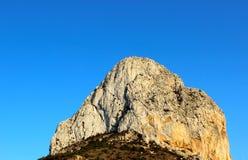 Ponta da montanha Imagens de Stock Royalty Free